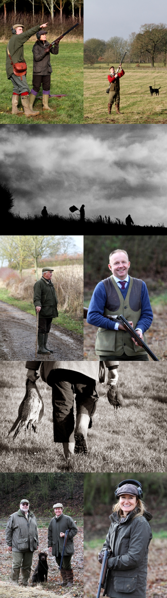 Pheasant Shooting Photography Oxfordshire 2